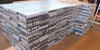 600.000 Zigaretten in Lkw versteckt