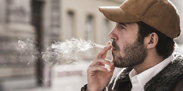 Fünf Zigaretten täglich so schlimm wie eine ganze Packung