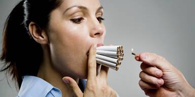 Zigaretten Nikotin rauchen