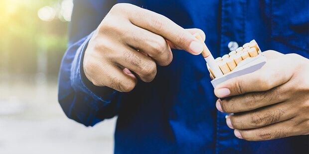 Zigaretten werden ab 1. Oktober teurer