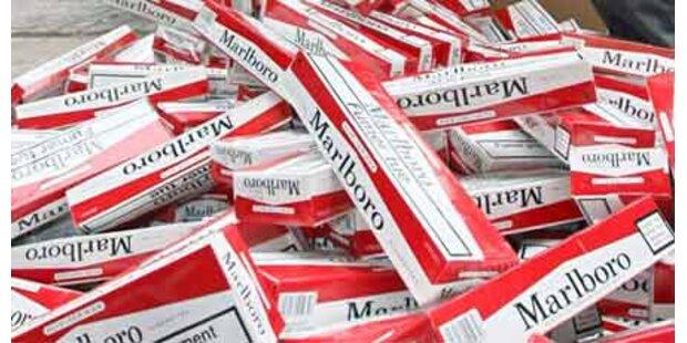 Zigaretten-Schmuggler müssen in Haft