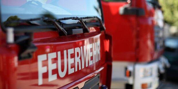 Brand in Halleiner Mehrfamilienhaus