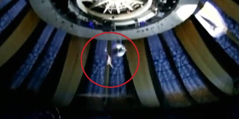 Zirkus-Akrobat stürzt 26 Meter ab