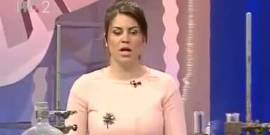 Live: TV-Sprecherin fällt in Ohnmacht