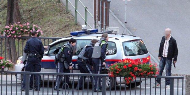 Mutige Polizistin entwaffnete Bankräuber