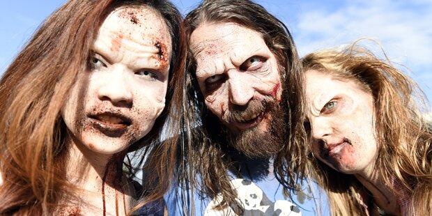 In St. Pölten sind die Zombies los