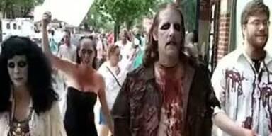 Zombie Walk: Untote in den Strassen Ohios