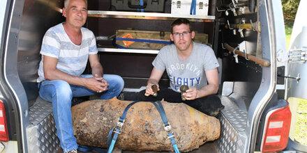 Fliegerbombe in Tirol entdeckt