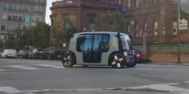 So sieht das Robo-Taxi von Amazon aus