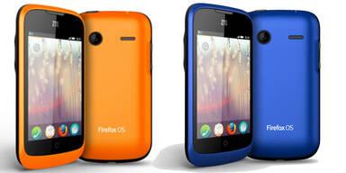 1. Firefox-Smartphone ist erhältlich