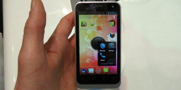 Quad-Core-Smartphones von ZTE