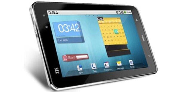 Android-Tablet ZTE V9 startet in Österreich
