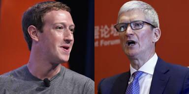 Apple-Chef attackiert Mark Zuckerberg