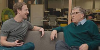 Mark Zuckerberg bittet Bill Gates um Rat