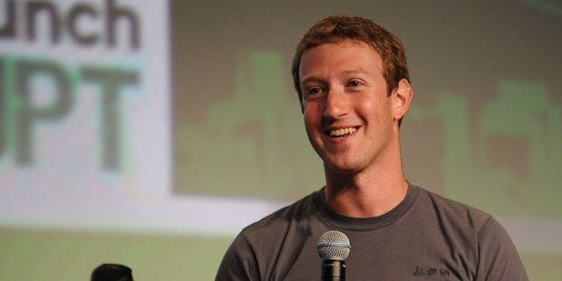 Facebook-Aktie auf neuem Rekordstand