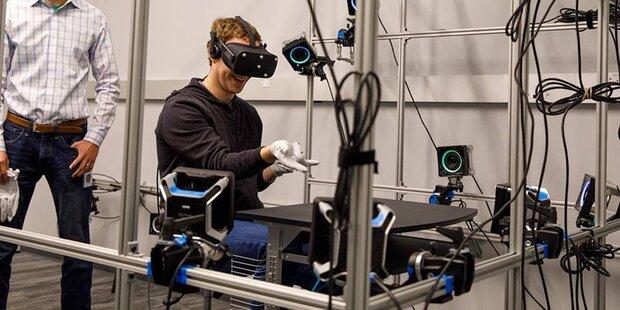 So cool ist das Geheimlabor von Oculus