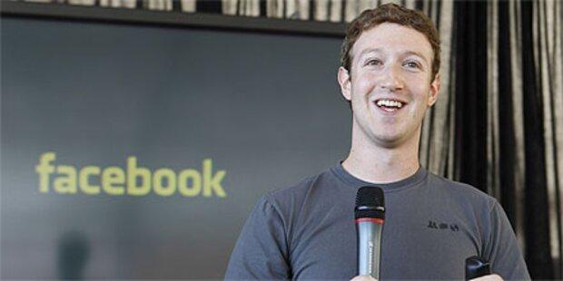 Facebook-Chef kündigte Großspende an