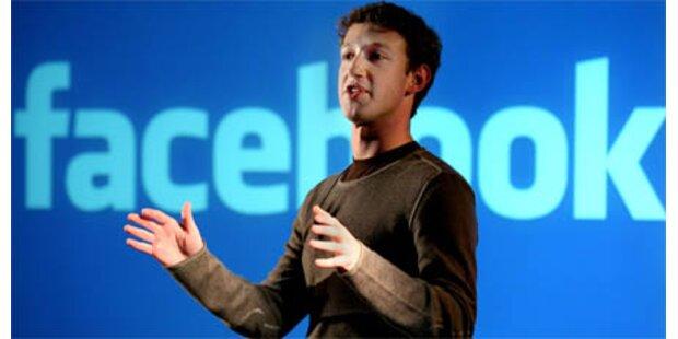 Facebook-Gründer spendet 100 Mio. Dollar