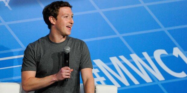 Mark Zuckerberg über Obama