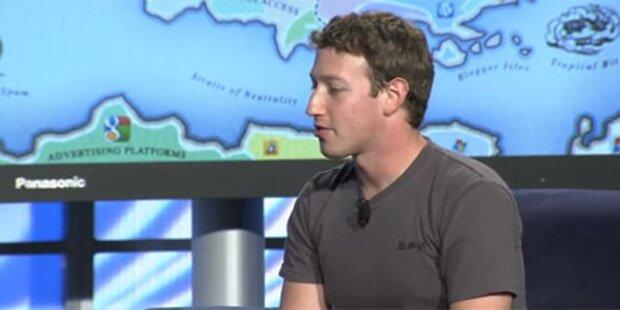 Mark Zuckerbeg zeigt sich selbstkritisch