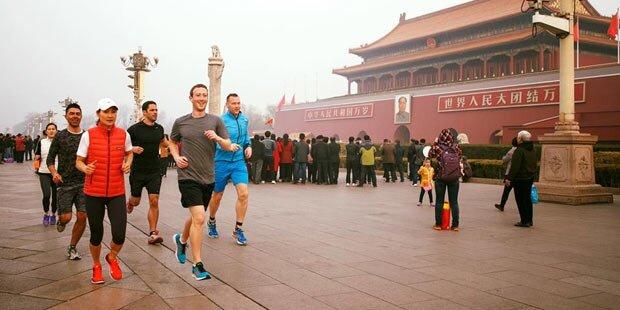 Jogging-Foto: Shitstorm gegen Zuckerberg