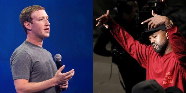 Kanye West schnorrt Zuckerberg an