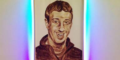 Hacker malt Zuckerberg aus Fäkalien