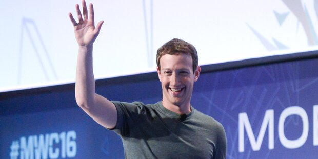 Mark Zuckerberg stiftet Großrechner