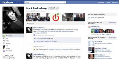 Facebook-Seite für Zuckerbergs Welpen