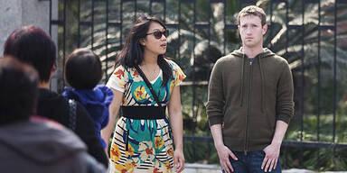 Zuckerberg auf Liebestour in Shanghai