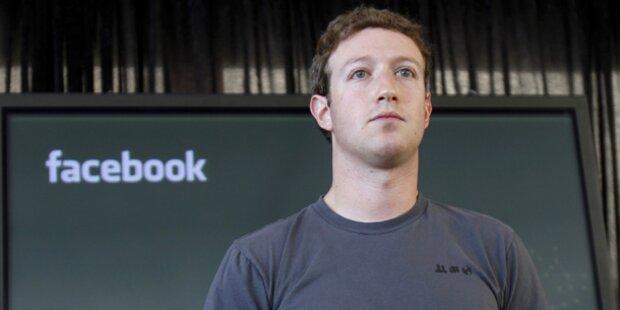 Facebook-Chef rügt wichtigsten Investor