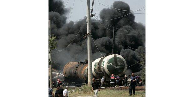 Ost-West-Zugstrecke nach Explosion wieder offen