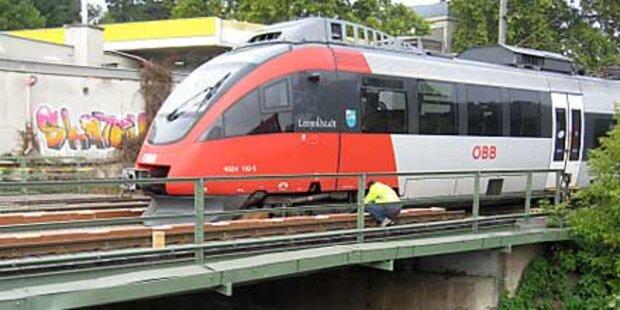 Zug in Klosterneuburg entgleist
