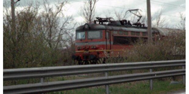 Fünf Tote bei Zugbrand in Bulgarien
