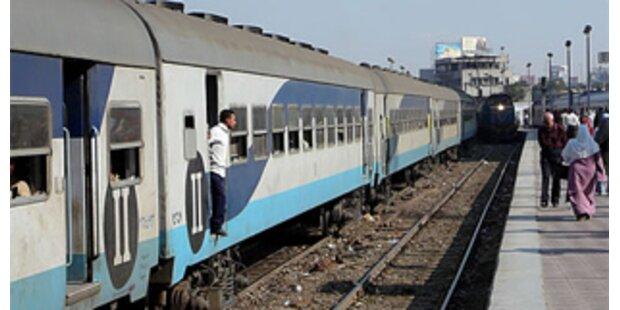 40 Tote bei Zug-Katastrophe in Ägypten