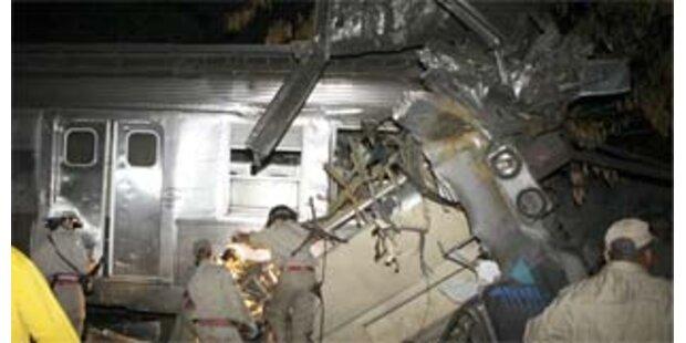 Mindestens neun Tote bei Zugunglück in Brasilien