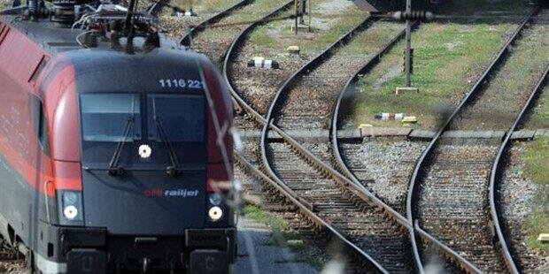 Auf Zug: Mann erlitt Stromschlag