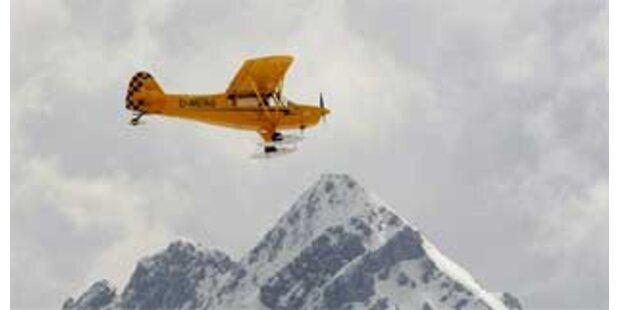 Flugzeug landete auf höchstem Berg Deutschlands