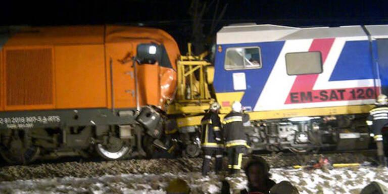 Zwei Tote bei Zugsunglück