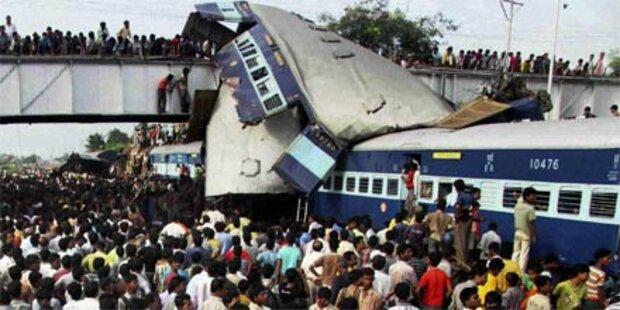 60 Tote bei Zugunglück in Indien