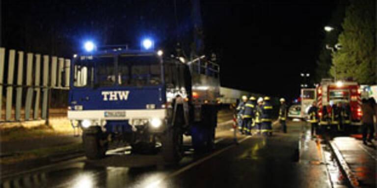 Der Unfallort in Germersheim