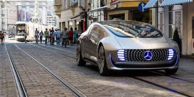 Zukunfts-Mercedes ist bereits in Linz