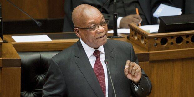 Zuma als Südafrikas Präsident bestätigt