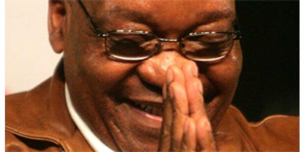 Jacob Zuma entthront Mbeki an der Spitze des ANC