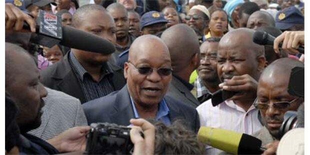 ANC verpasst wohl Zwei-Drittel-Mehrheit