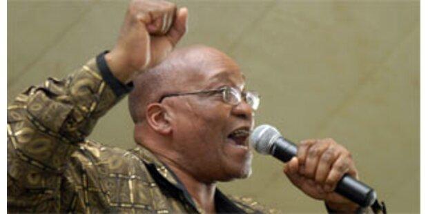 ANC-Chef Zuma muss vor Gericht