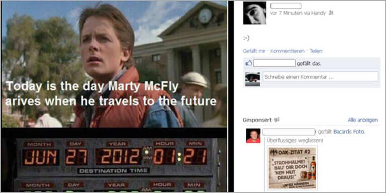 """""""Zurück in die Zukunft""""- Foto ist ein Fake"""
