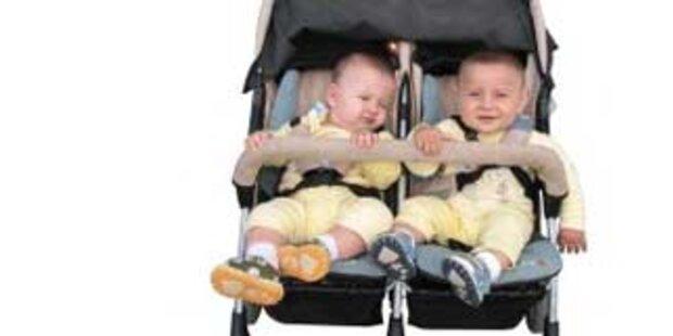 Zwillinge an versch. Monaten und Jahren geboren
