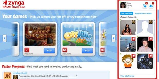 Zynga startet eigene Spielewelt
