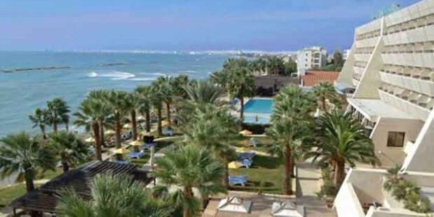 Sonne genießen in Zypern